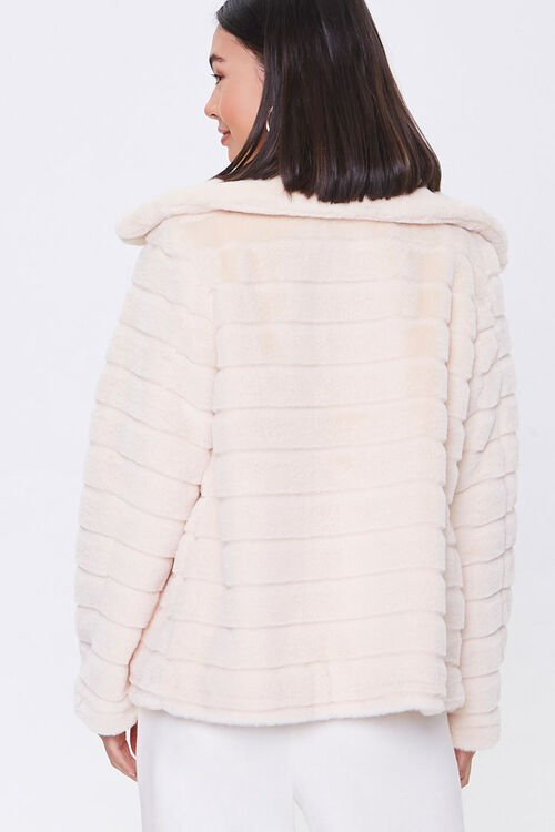 Quilted Faux Fur Coat, image 3