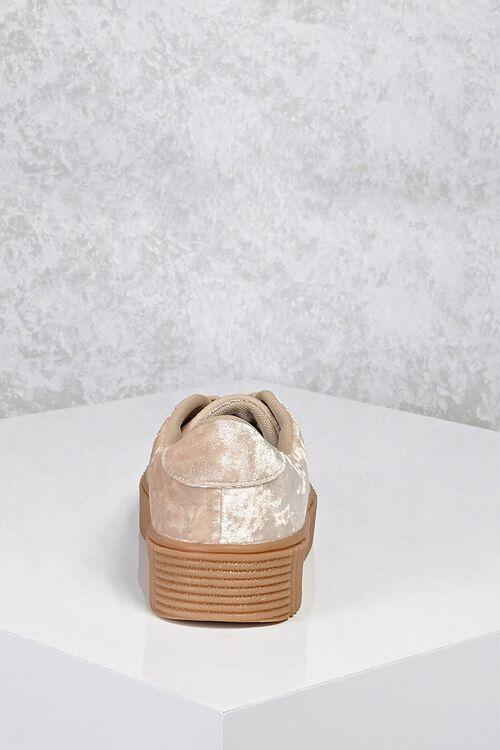 Crushed Velvet Low-Top Sneakers, image 2