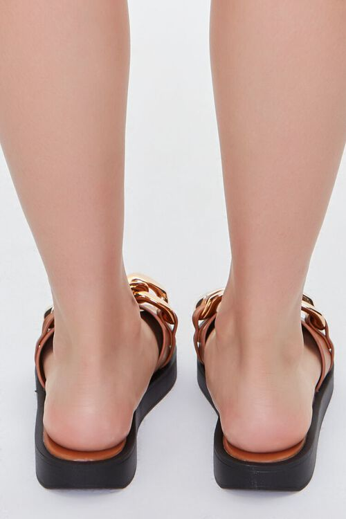 Curb Chain Slip-On Wedges, image 3