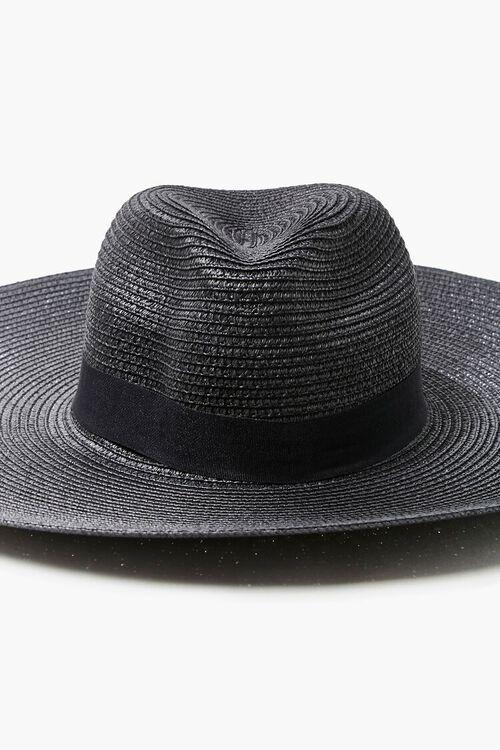 Faux Straw Panama Hat, image 4