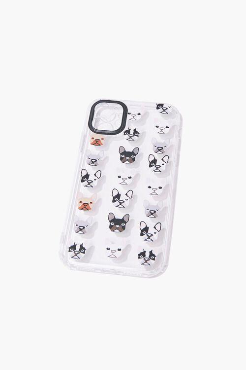 WHITE/MULTI French Bulldog Print Phone Case for iPhone 11, image 1