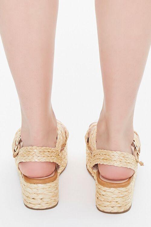 Basketwoven Espadrille Sandals, image 3