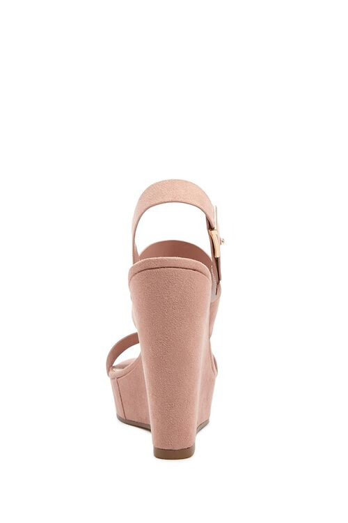 Faux Suede Wedges, image 5