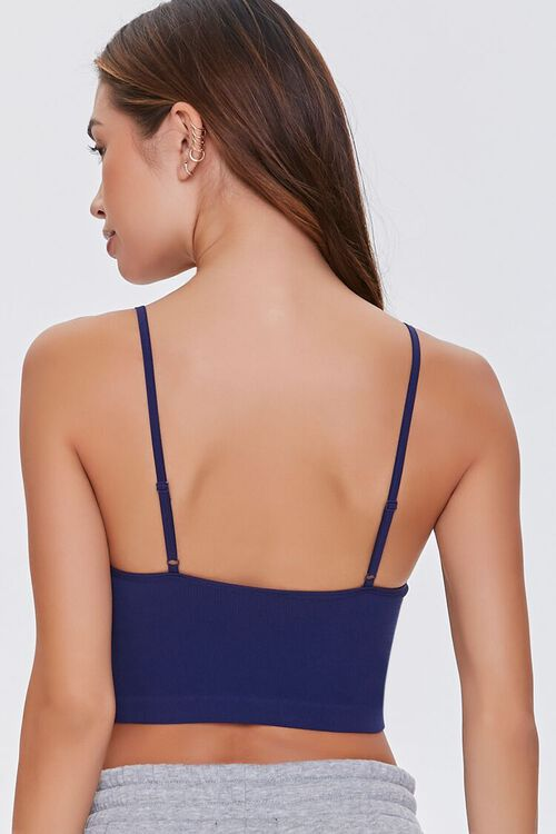 Seamless Ribbed Knit Bralette, image 3