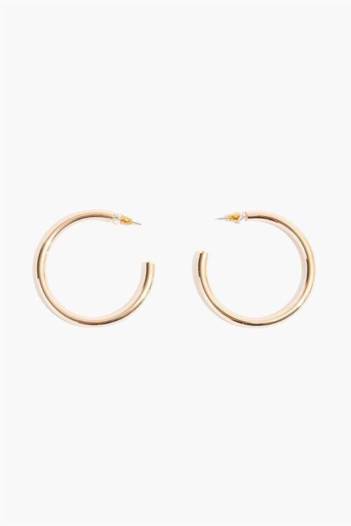 Tube Hoop Earrings, image 2