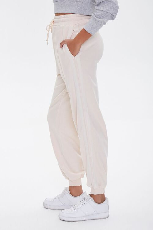 Side-Striped French Terry Joggers, image 3