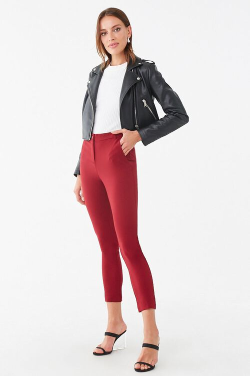 High-Rise Ankle Pants, image 1
