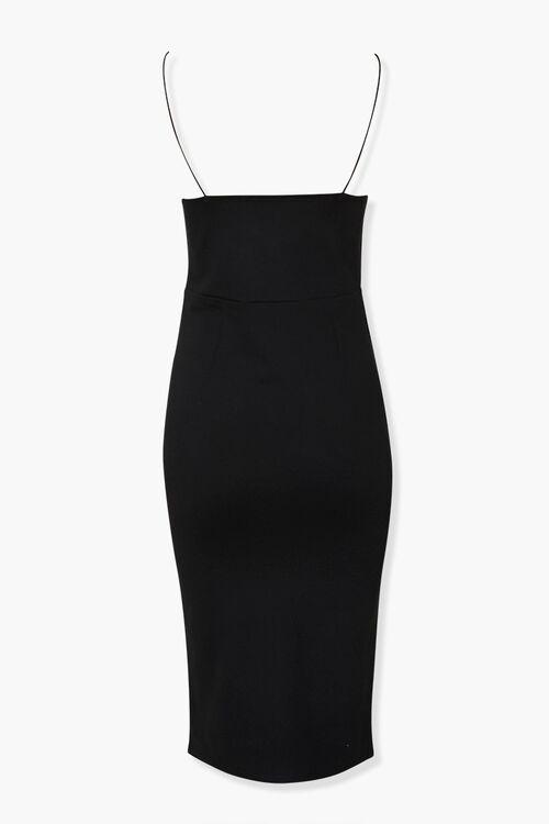 V-Neck Cami Bodycon Dress, image 3
