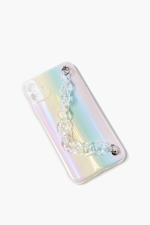 Rainbow Chain-Strap Case for iPhone 11, image 1