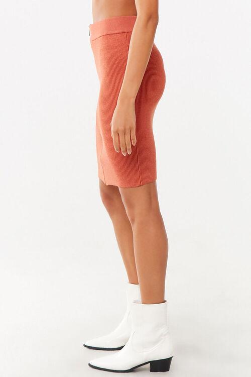 Zip-Front Mini Skirt, image 3