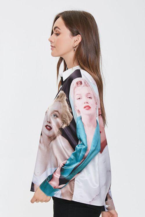 BLACK/MULTI Marilyn Monroe Button-Front Shirt, image 2