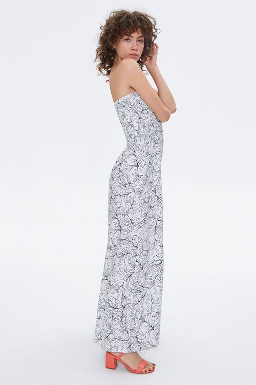 Tropical Print Maxi Tube Dress, image 2