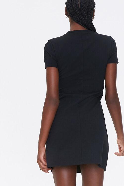 Mock Neck Mini Dress, image 3