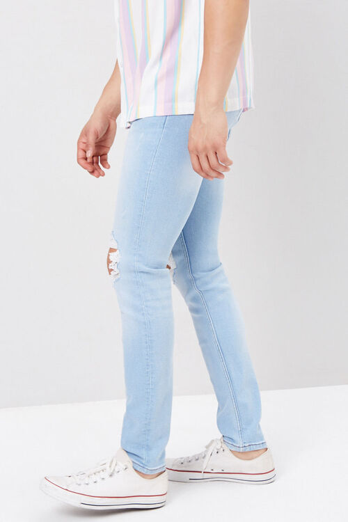 Distressed Paint Splatter Jeans, image 3
