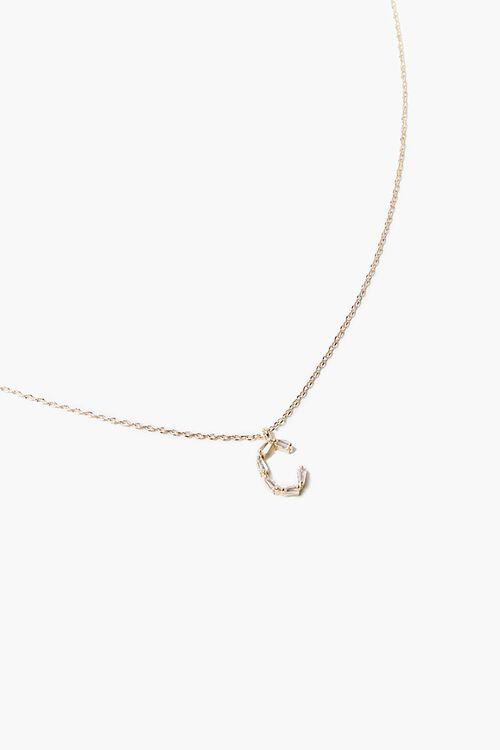 Letter Pendant Necklace, image 1