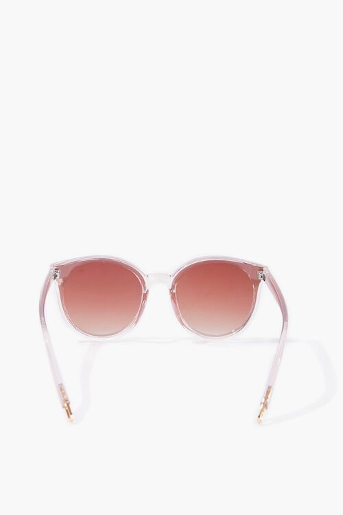 Clear Round Sunglasses, image 3