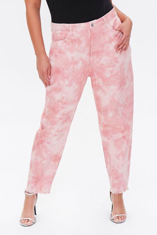 Plus Size Cloud Wash Denim Pants, image 2