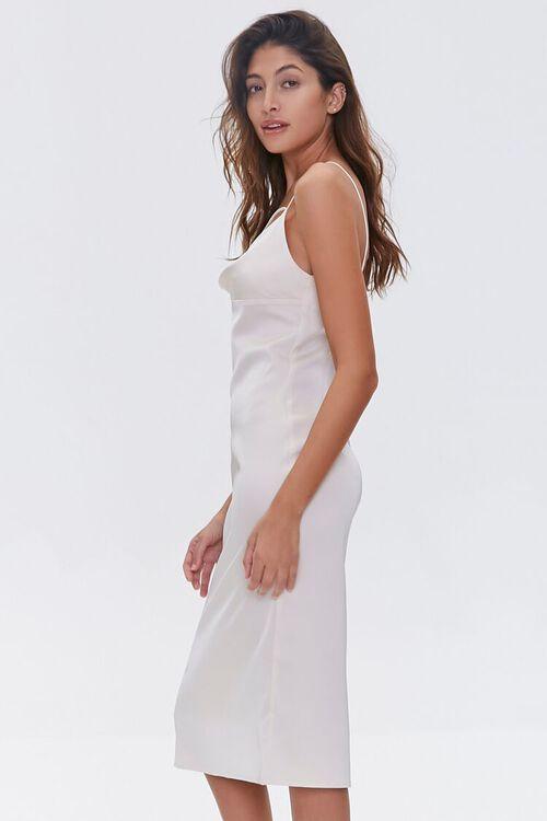 Satin Cowl-Neck Slip Dress, image 2