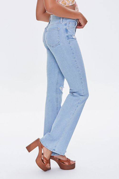 Distressed Flare Jeans, image 3