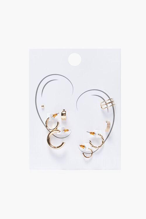 Variety Hoop Earring Set, image 2