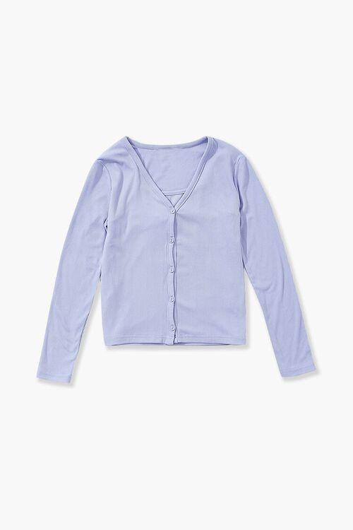 Girls Cami & Cardigan Sweater Set (Kids), image 2