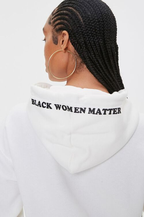 CREAM/MULTI Stormy Nesbit Black Women Matter Graphic Hoodie, image 6