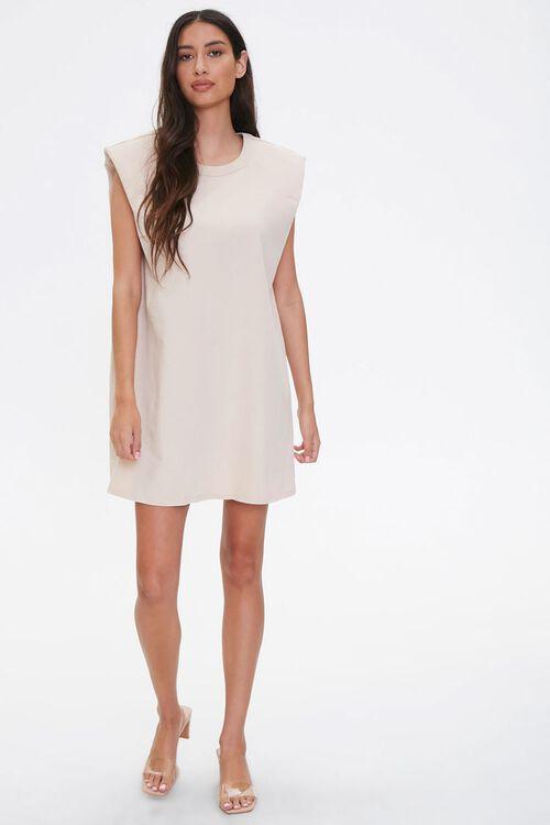 T-Shirt Shoulder Pad Dress, image 4