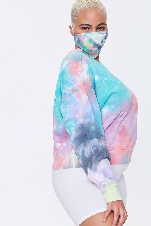 Plus Size Sweatshirt & Face Mask Set, image 2