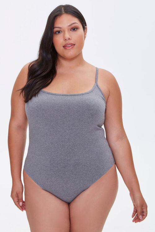 Plus Size Cami Bodysuit, image 5