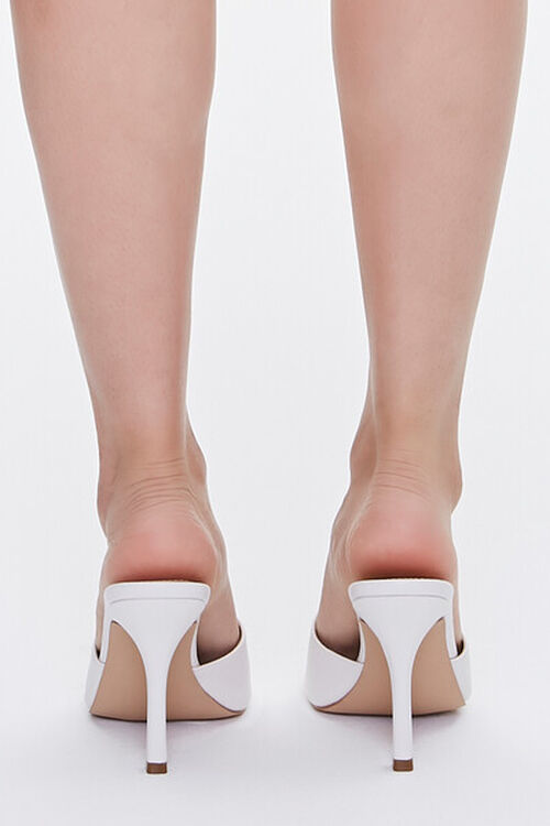Faux Leather Stiletto High Heel, image 3