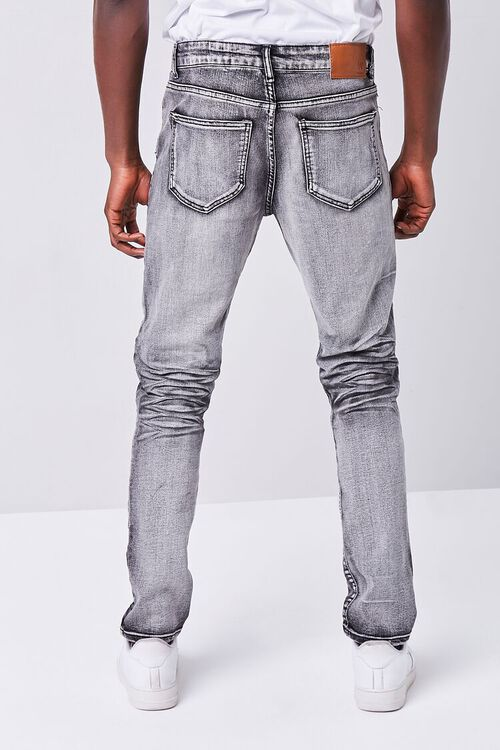 WASHED BLACK Waimea Distressed Weatherbeaten Jeans, image 4
