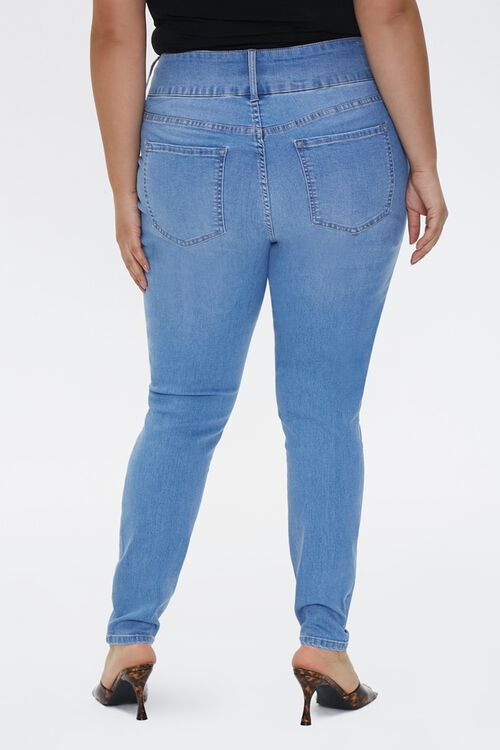 Plus Size Recycled Curvy-Fit Jeans, image 4
