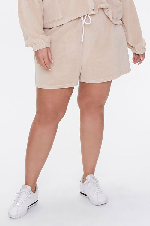 Plus Size Cardigan & Shorts Set, image 6