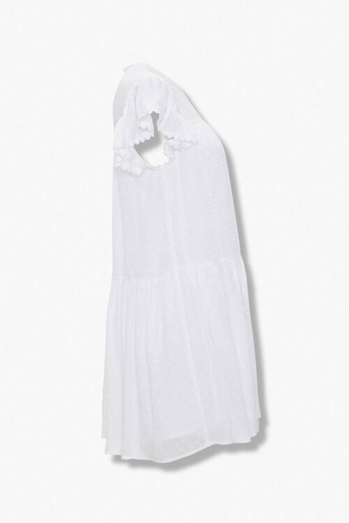Clip Dot Shift Mini Dress, image 2