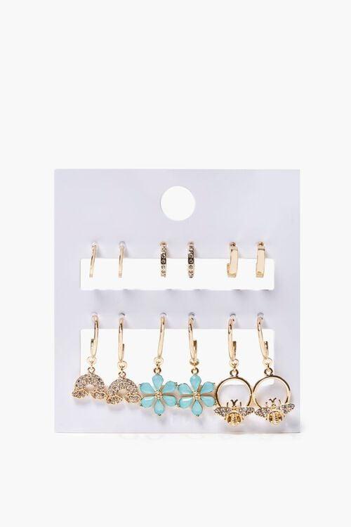 Assorted Hoop & Drop Earring Set, image 2