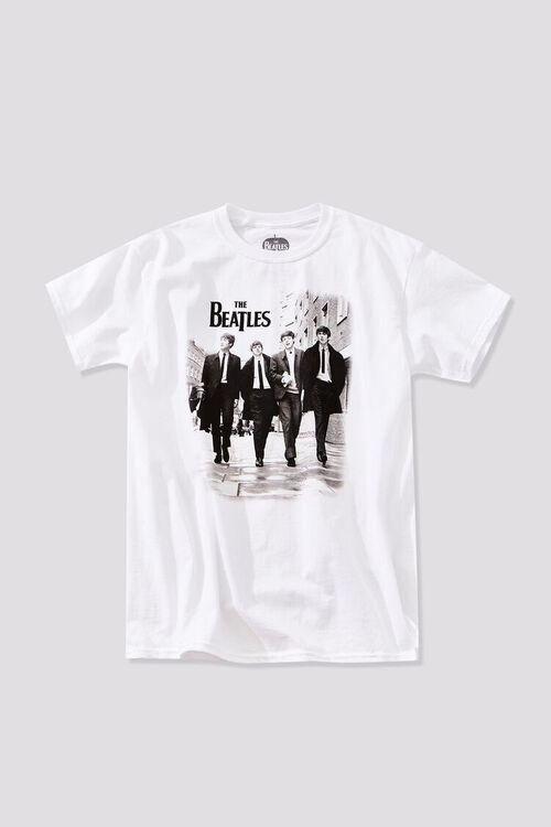WHITE/BLACK The Beatles Graphic Tee, image 1