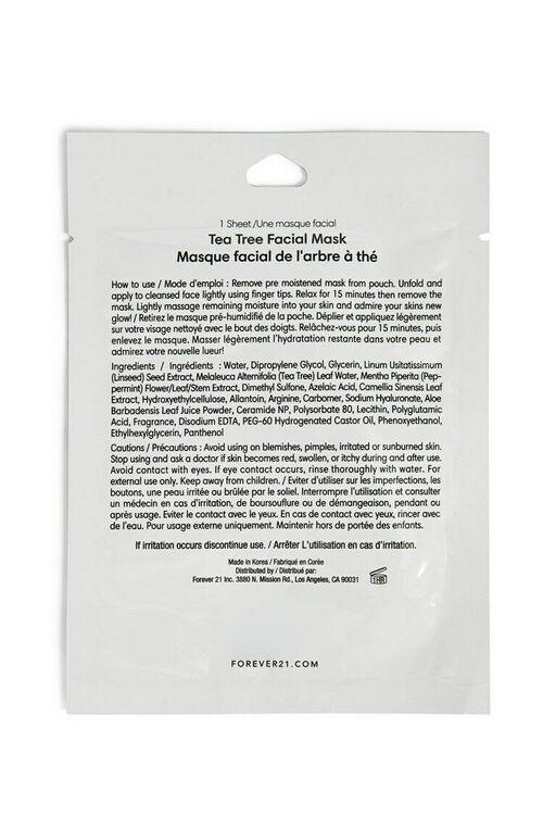 Tea Tree Sheet Mask, image 2