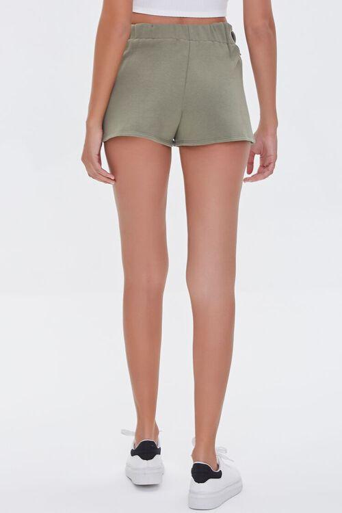 Fleece Tie-Waist Shorts, image 4
