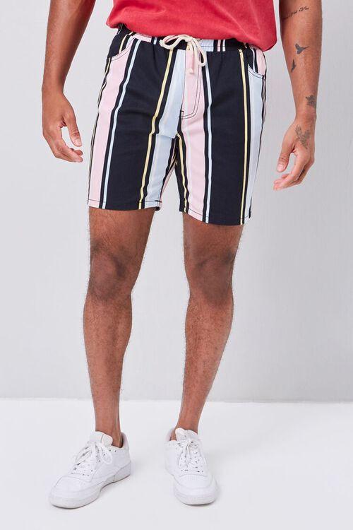 Striped Drawstring Shorts, image 1