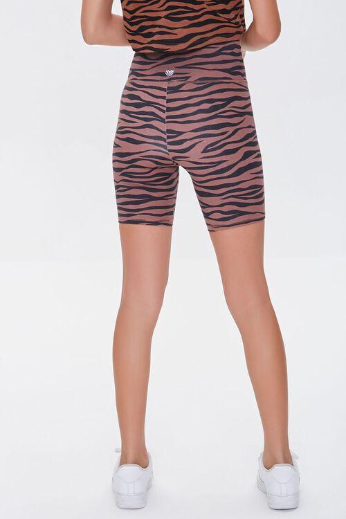 Tiger Striped Biker Shorts, image 4