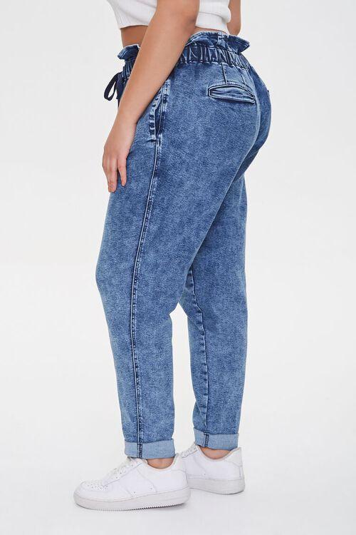 Plus Size Paperbag Jeans, image 3