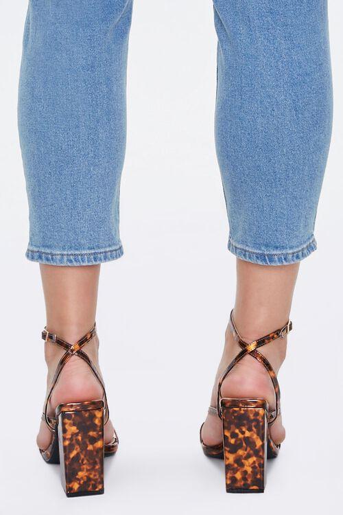 Metallic Tortoiseshell Block Heels, image 4