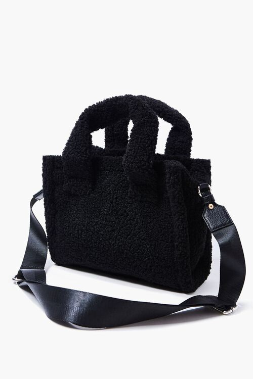 Faux Shearling Tote Bag, image 4