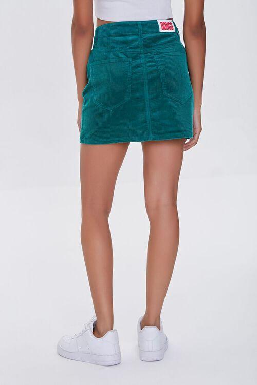 HUNTER GREEN Bongo Corduroy Skirt, image 4