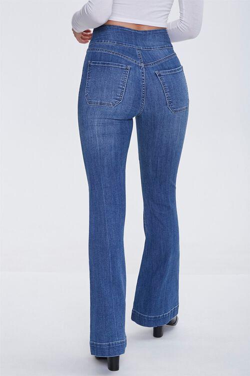 Sash Bow-Belt Flare Jeans, image 4
