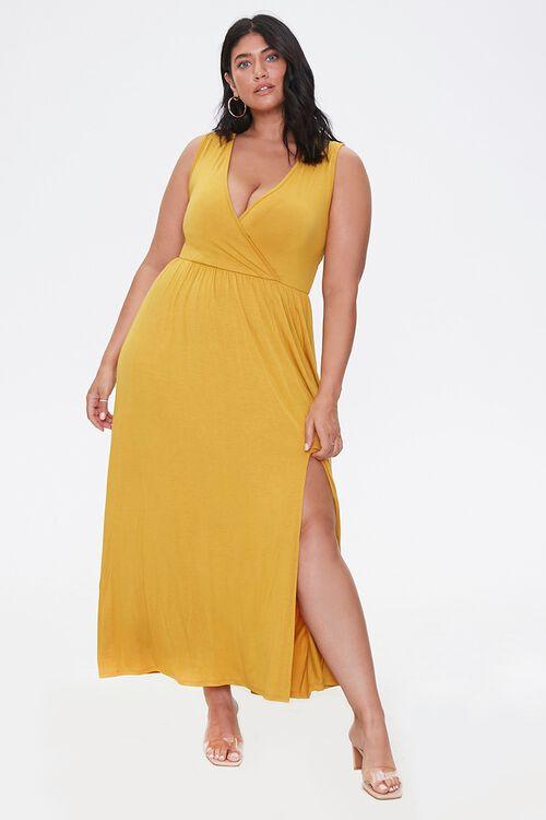 Plus Size Sleeveless Maxi Dress, image 1
