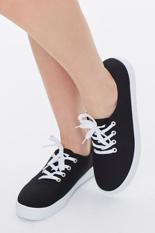 Canvas Low-Top Sneakers, image 5