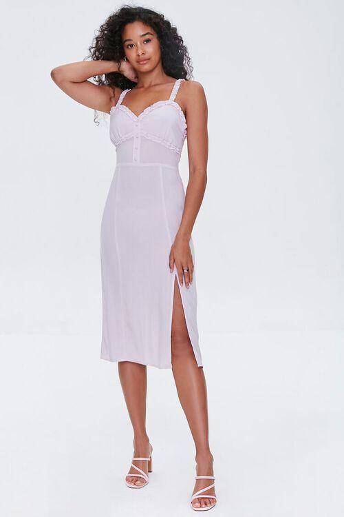 Sweetheart Ruffle-Trim Dress, image 4
