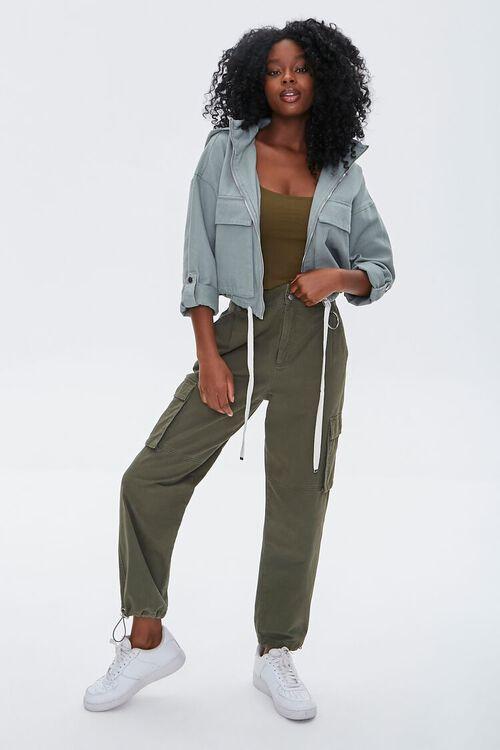 Hooded Zip-Up Jacket, image 4