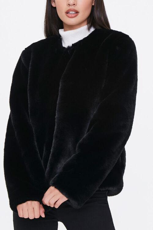 Plush Round-Neck Jacket, image 5